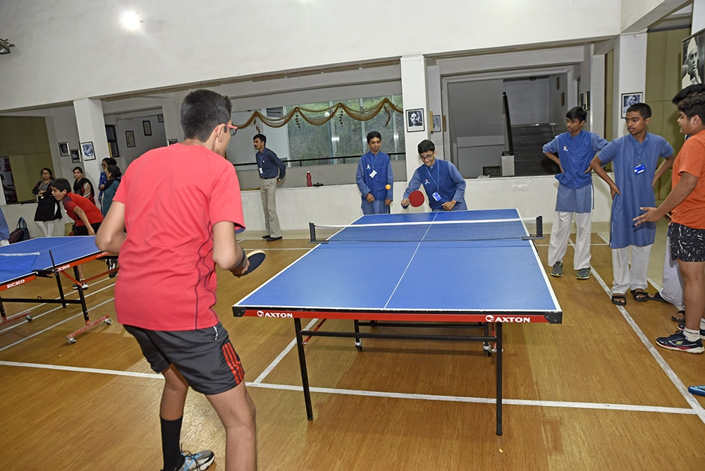 Table Tennis Session