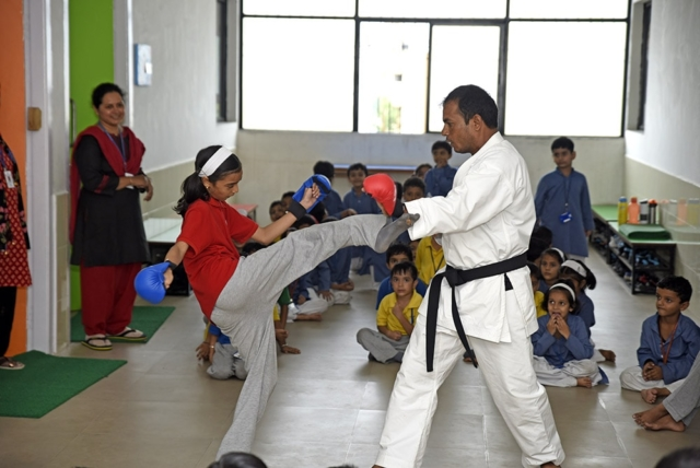 Karate Session
