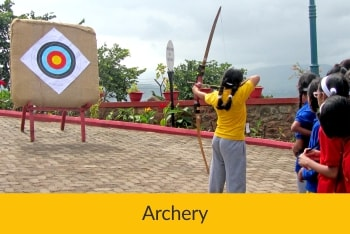 Archery | Sanskriti School