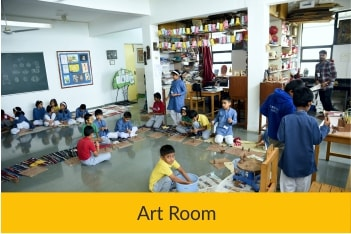 Art Room | Sanskriti School