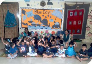 Blue Day | Sanskriti School