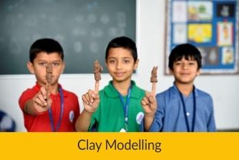 Clay Modeling | Sanskriti School