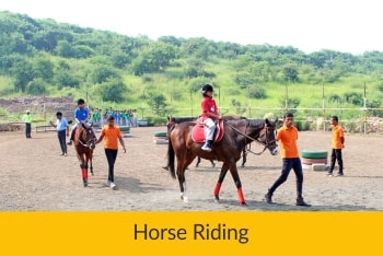 Horse Riding | Sanskriti School