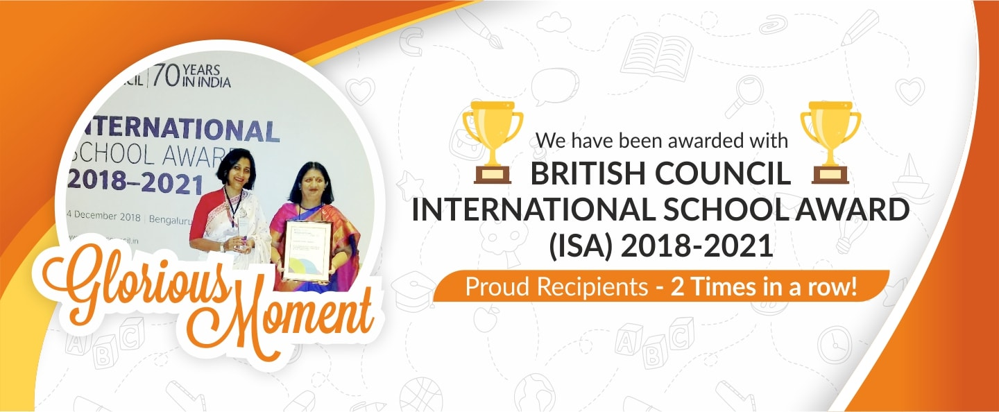 British Council International school awards | Sanskriti School