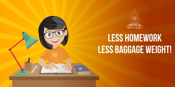 Less Homework | Sanskriti School